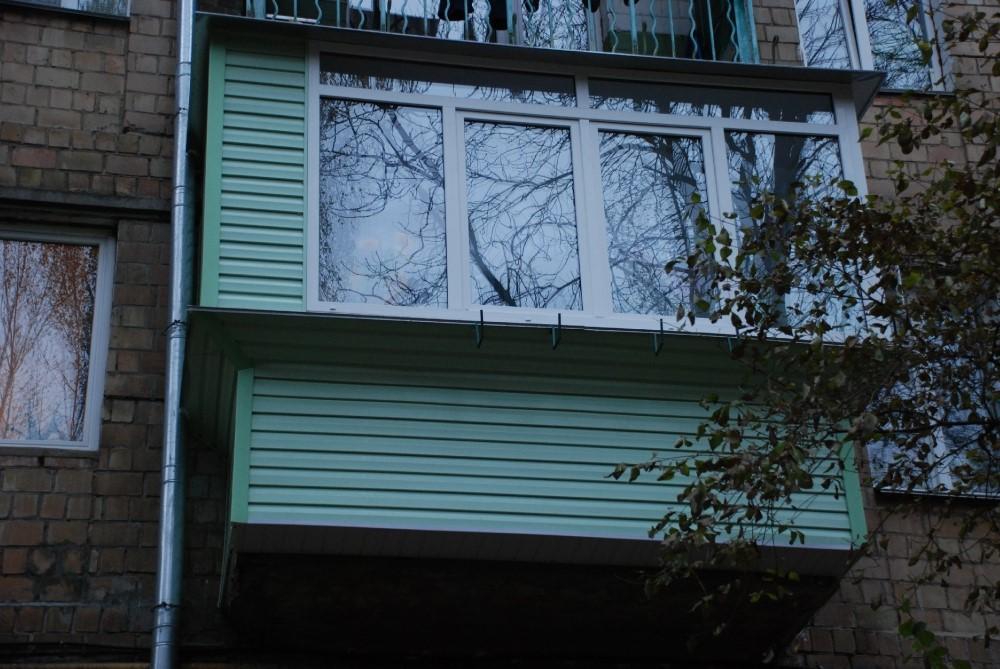 Евробалкон под ключ / отделка и остекление балконов в туле о.