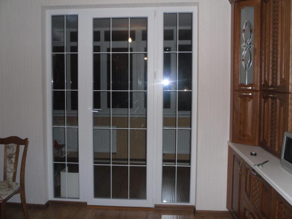 Балконная дверь французское окно